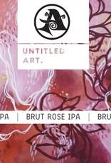 Untitled Art x Ascension 'Brut Rose' IPA 16oz Can