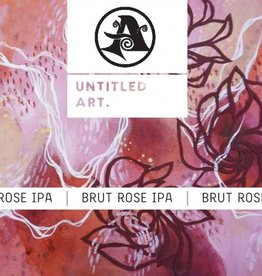 Untitled Art x Ascension 'Brut Rose' IPA 16oz Can
