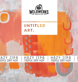 Untitled Art x Weldwerks 'Hazy IIPA' 16oz Can
