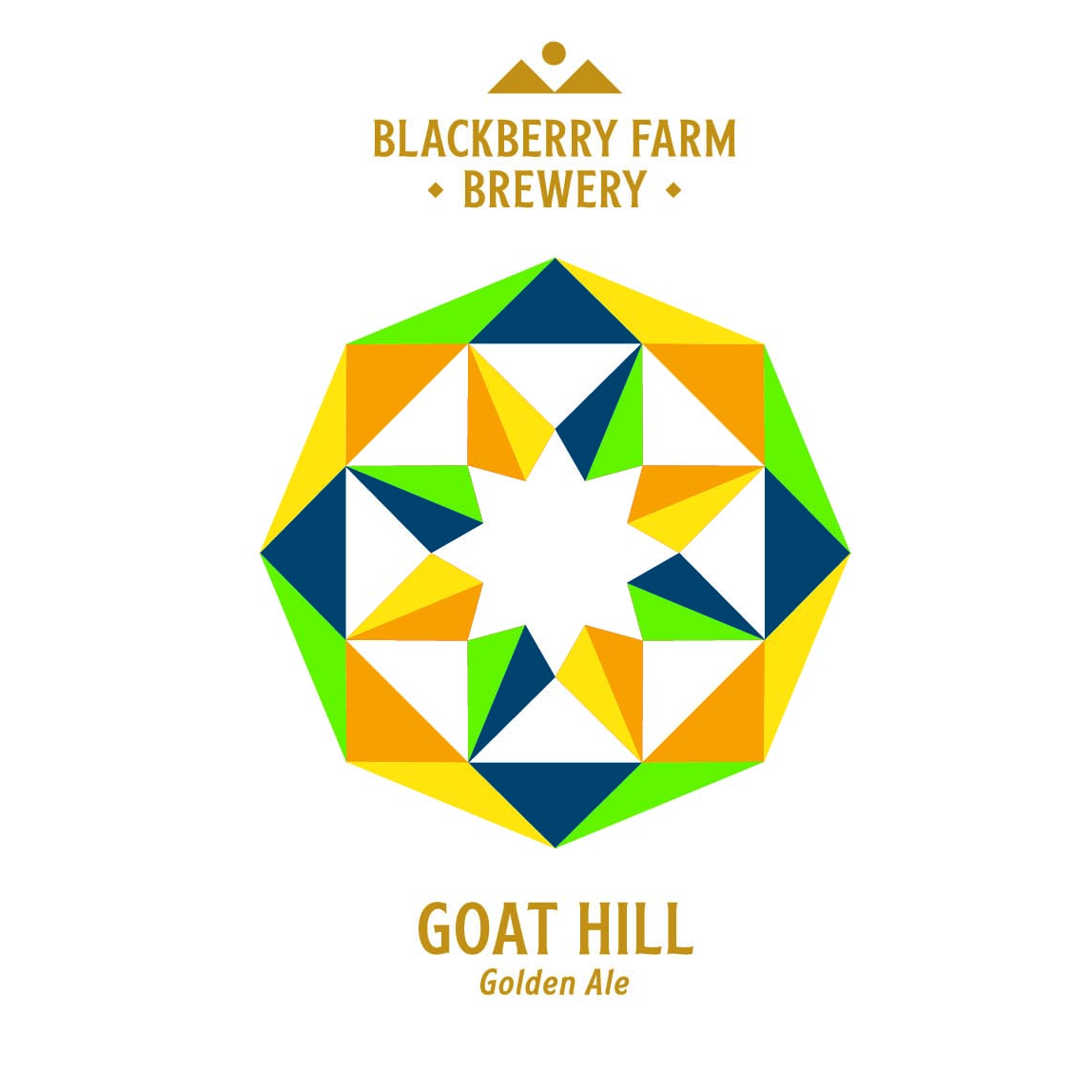 Blackberry Farm Brewery 'Goat Hill' Golden Ale 12oz Can
