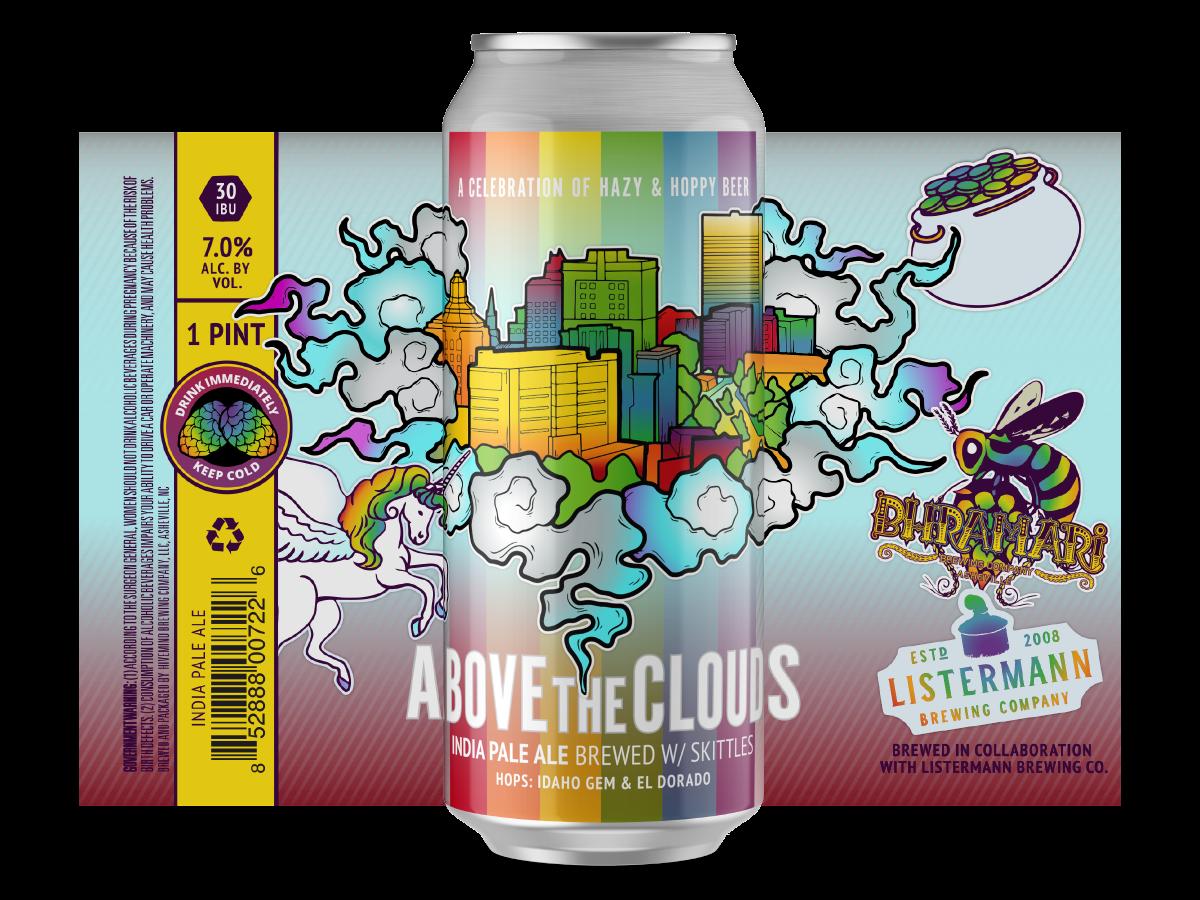 Bhramari x Listermann 'Above The Clouds: Skittles IPA' 16oz Can