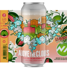 Bhramari x New Anthem 'Above The Clouds Collab: Sour Melon Milkshake' IPA 16oz Can