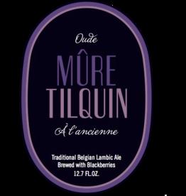 Tilquin 'Oude Mûre Tilquin à l'Ancienne' Sour Ale brewed with Blackberries 375 ml