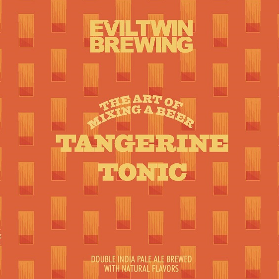 Evil Twin Brewing 'Tangerine Tonic' Double IPA 16oz Can
