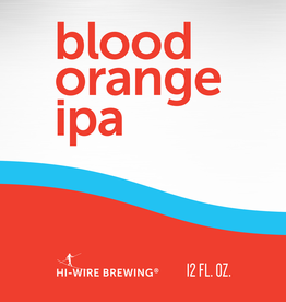 Hi-Wire Brewing 'Blood Orange IPA' 12oz Can