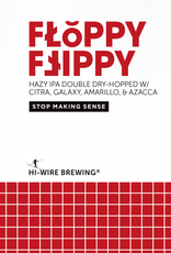 Hi-Wire Brewing 'Floppy Flippy' Double IPA 16oz Can