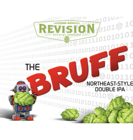 Revision 'The Bruff' Double IPA 16oz Can