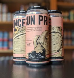 Fonta Flora 'Sun Prince' Double IPA w/ Peaches 16oz Can