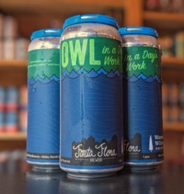 Fonta Flora 'Owl in a Days Work' IPA 16oz Can