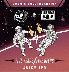 Ecliptic x Bells 'Juicy IPA' 500ml