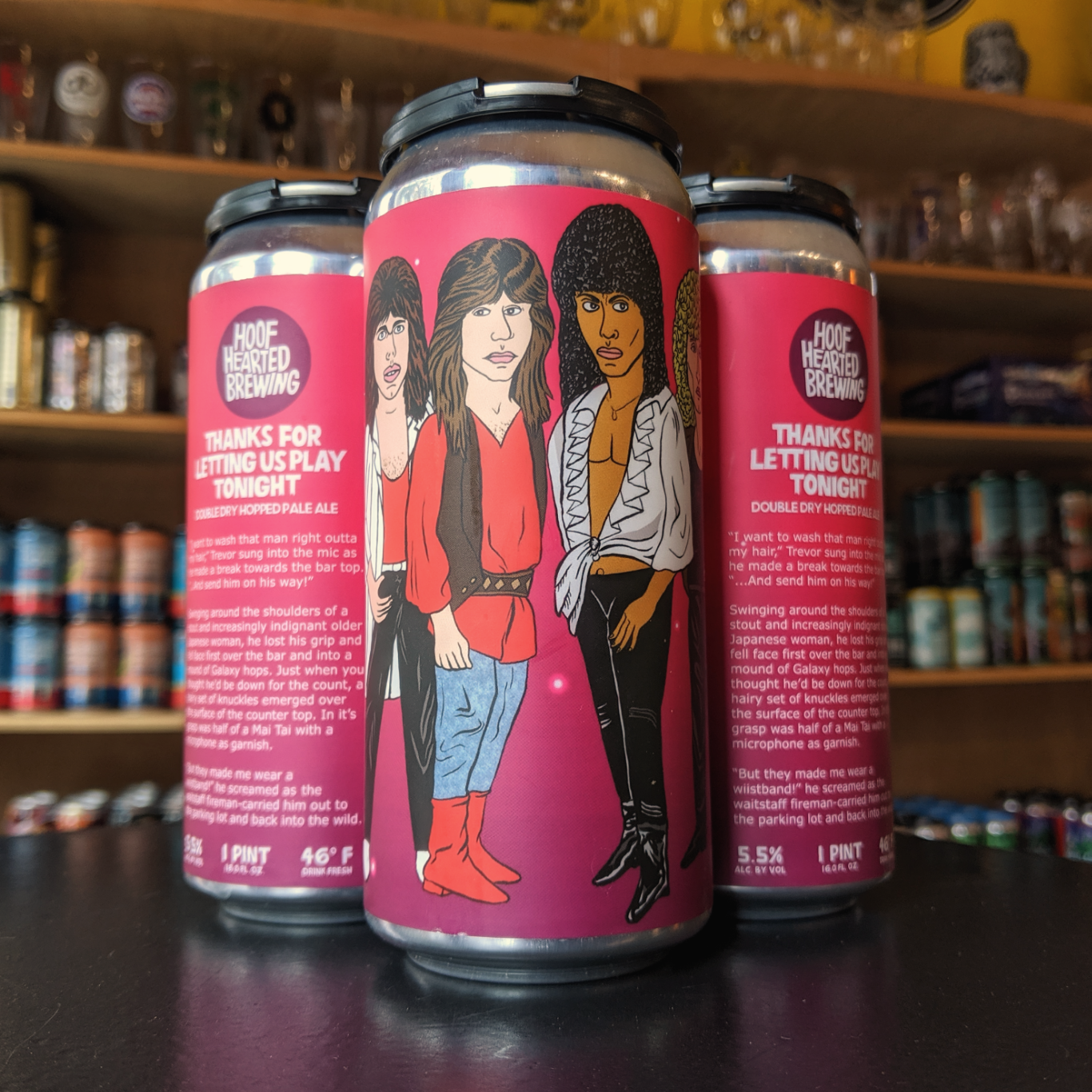 Hoof Hearted 'Thanks For Letting Us Play Tonight' Pale Ale 16oz Can