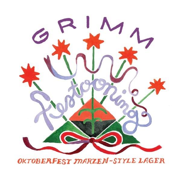 Grimm Artisanal Ales 'Festooning' Märzen Lager 16oz Can