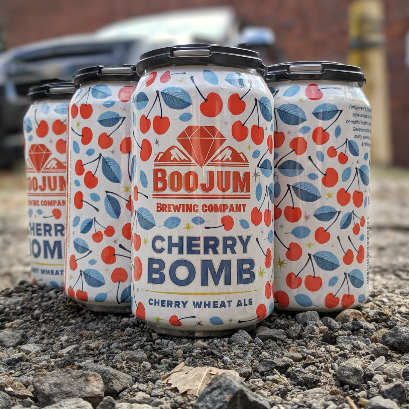 Boojum Brewing Co. 'Cherry Bomb' Wheat Ale 12oz Can