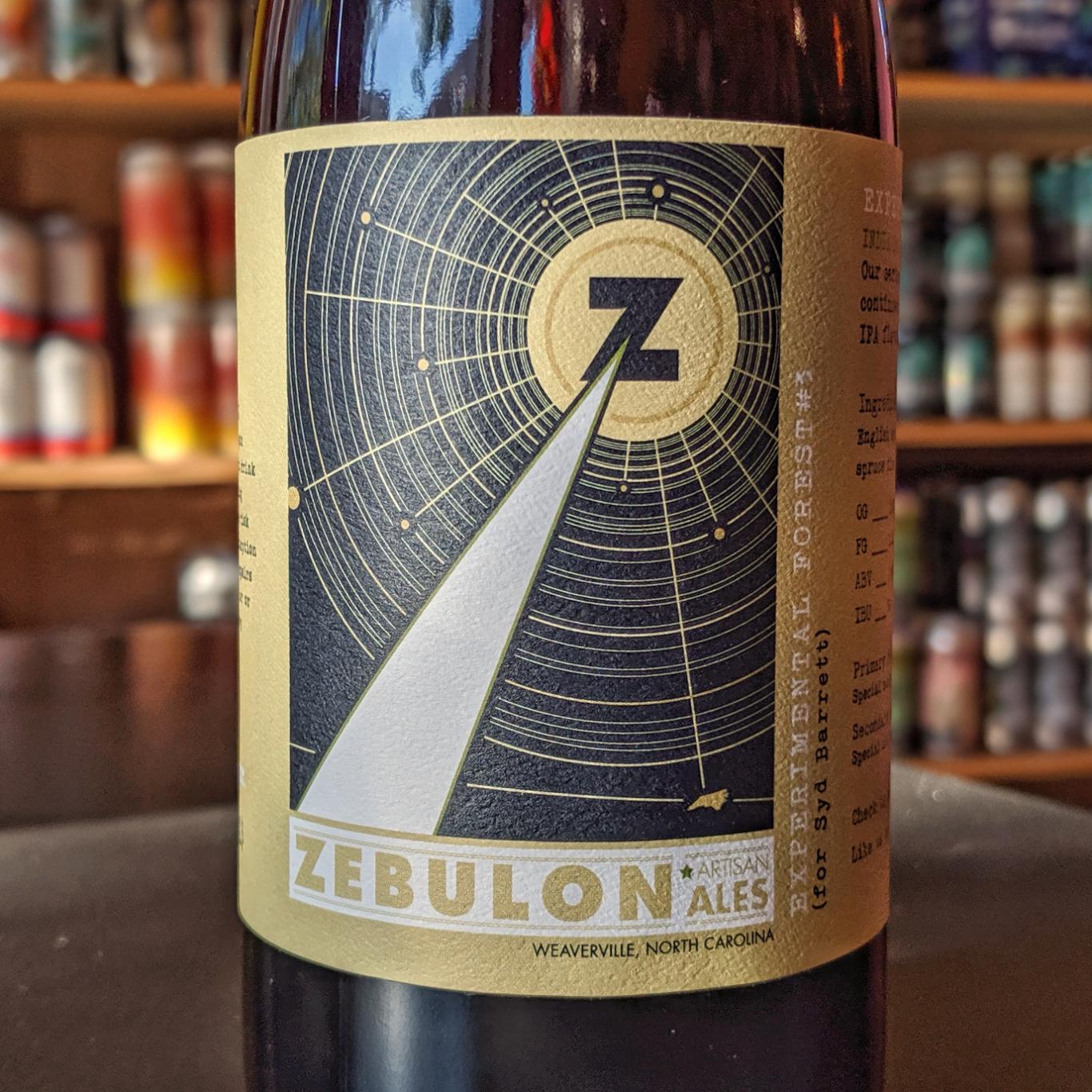Zebulon Artisan Ales 'Experimental Forest #3 (for Syd Barret)' 500ml
