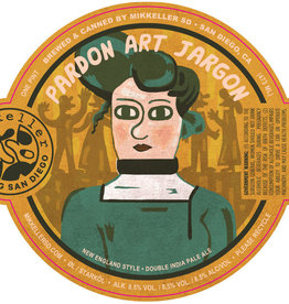 Mikkeller 'Pardon Art Jargon' NE Double IPA 16oz Can