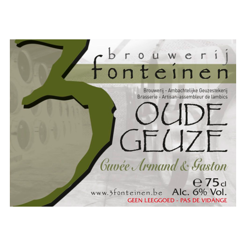 Drie Fonteinen 'Cuvee Armand & Gaston' 750ml