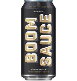Lord Hobo 'Boomsauce' NE Double IPA 16oz Can