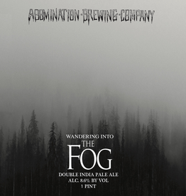 Abomination 'Wandering Into The Fog' 16oz Can