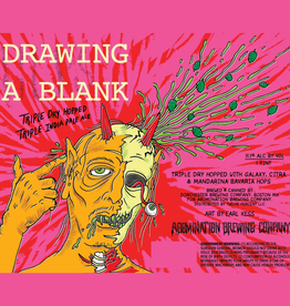 Abomination 'Drawing A Blank' Triple IPA 16oz Can