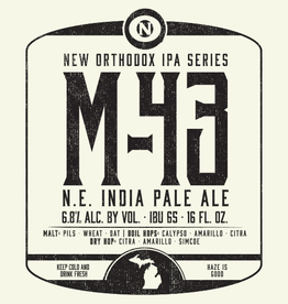 Old Nation 'M-43' NE IPA 16oz Can