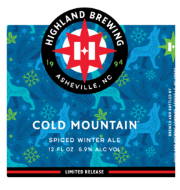 Highland 'Cold Mountain' Winter Ale 22oz