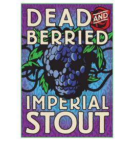 Foothills Brewing 'Dead & Berried' Barrel-aged Imperial Stout 22oz