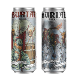 Burial 'Gang of Blades' Double IPA 16oz Can