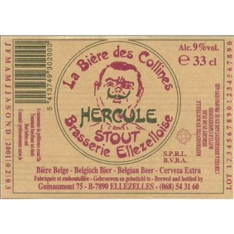 Ellezelloise 'Hercule' Stout 330ml