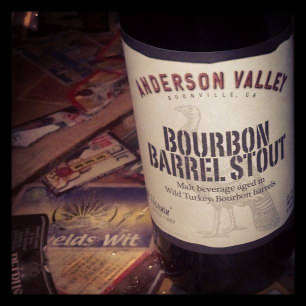 Anderson Valley Brewing Co. AVBC 'Bourbon Barrel Stout' 22oz