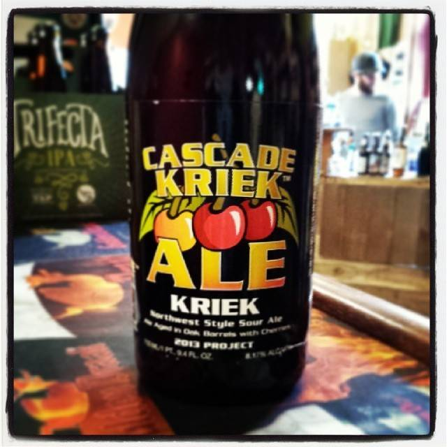 Cascade 'Kriek - 2014 Project' Sour Ale 750ml