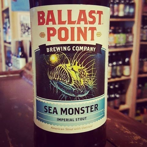 Ballast Point Brewing Co. 'Sea Monster' Imperial Stout 22oz