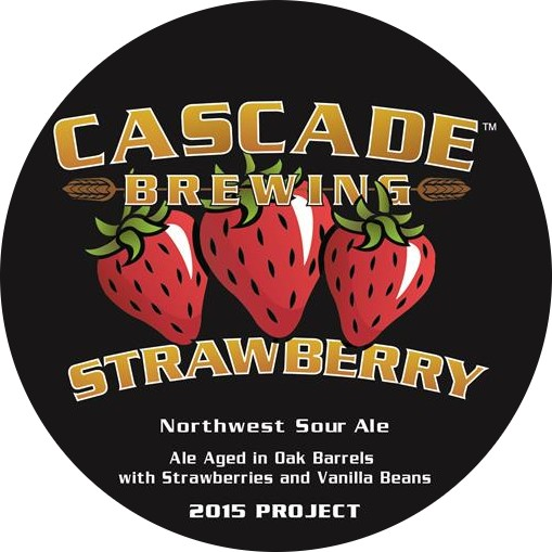 Cascade 'Strawberry - 2014 Project' Sour Ale 750ml