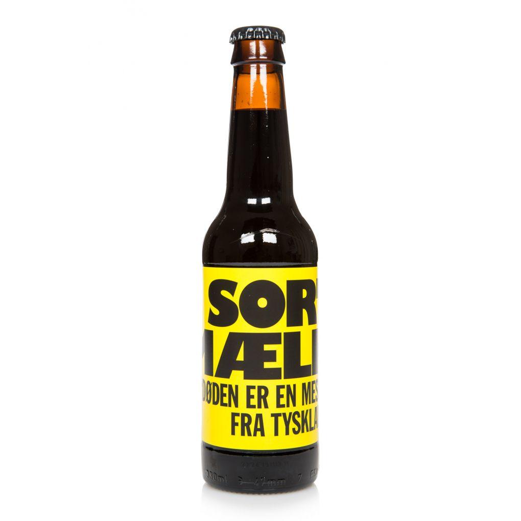 To Øl Sort Maelk' Barrel Aged Imperial Milk Stout 330ml