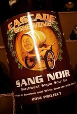 Cascade 'Sang Noir - 2014 Project' Sour Ale 750ml