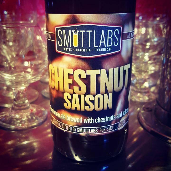 Smuttynose 'Smuttlabs Chestnut Saison' 500ml