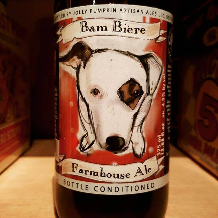Jolly Pumpkin 'Bam Biere' 375ml