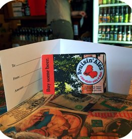 Bruisin' Ales Gift Cards $100 Bruisin' Ales Gift Card