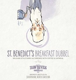 Haw River Farmhouse Ales 'St. Benedict's Breakfast' Dubbel 500ml