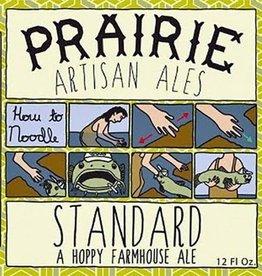 PRAIRIE Artisan Ales 'Standard' Hoppy Farmhouse Ale 12oz Sgl