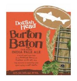 Dogfish Head 'Burton Baton' Oak Aged DIPA 12oz Sgl