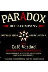 Paradox 'Cafe Verdad' Mexican Coffee & Cinnamon Ale 500ml