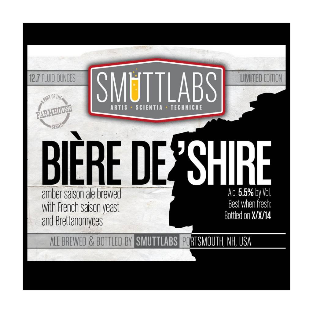 Smuttynose 'Biere de Shire' Amber Saison 22oz