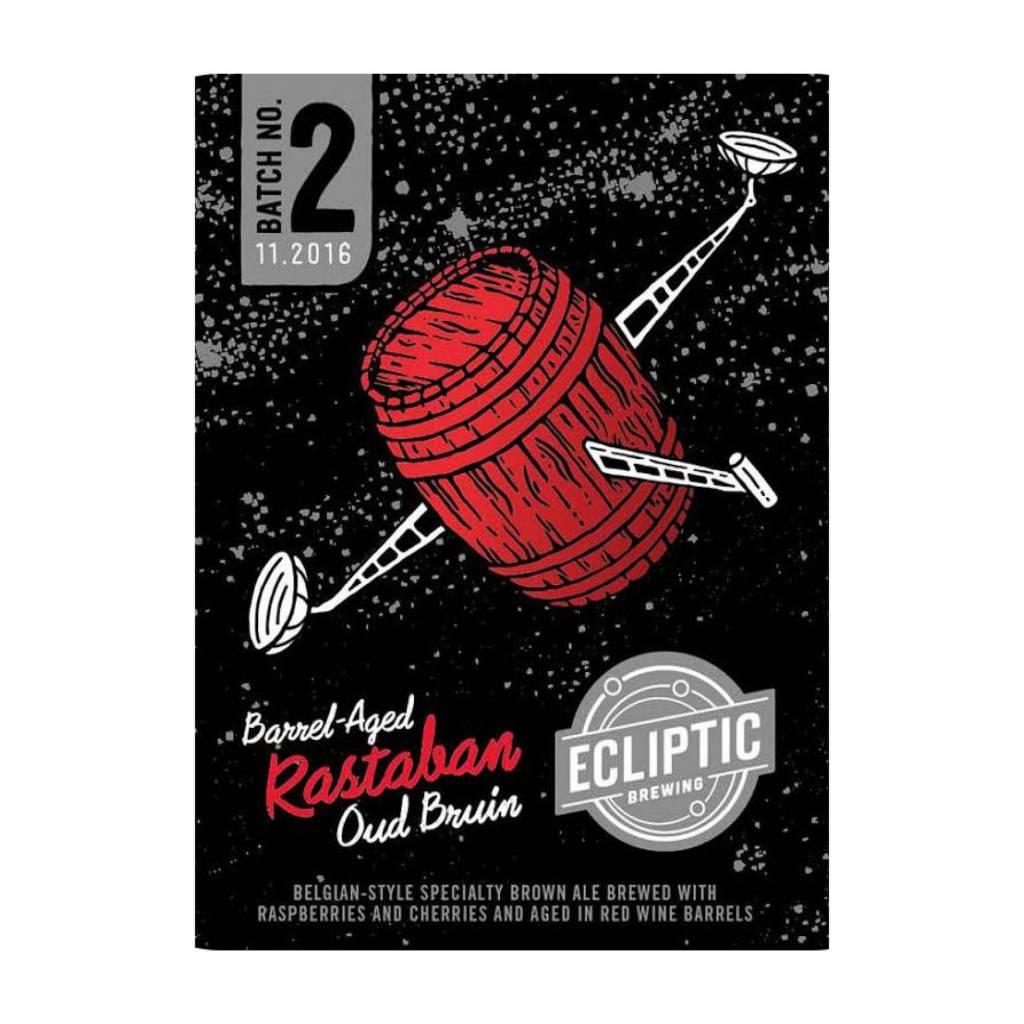 Ecliptic 'Rastaban' Barrel-Aged Oud Bruin 22oz