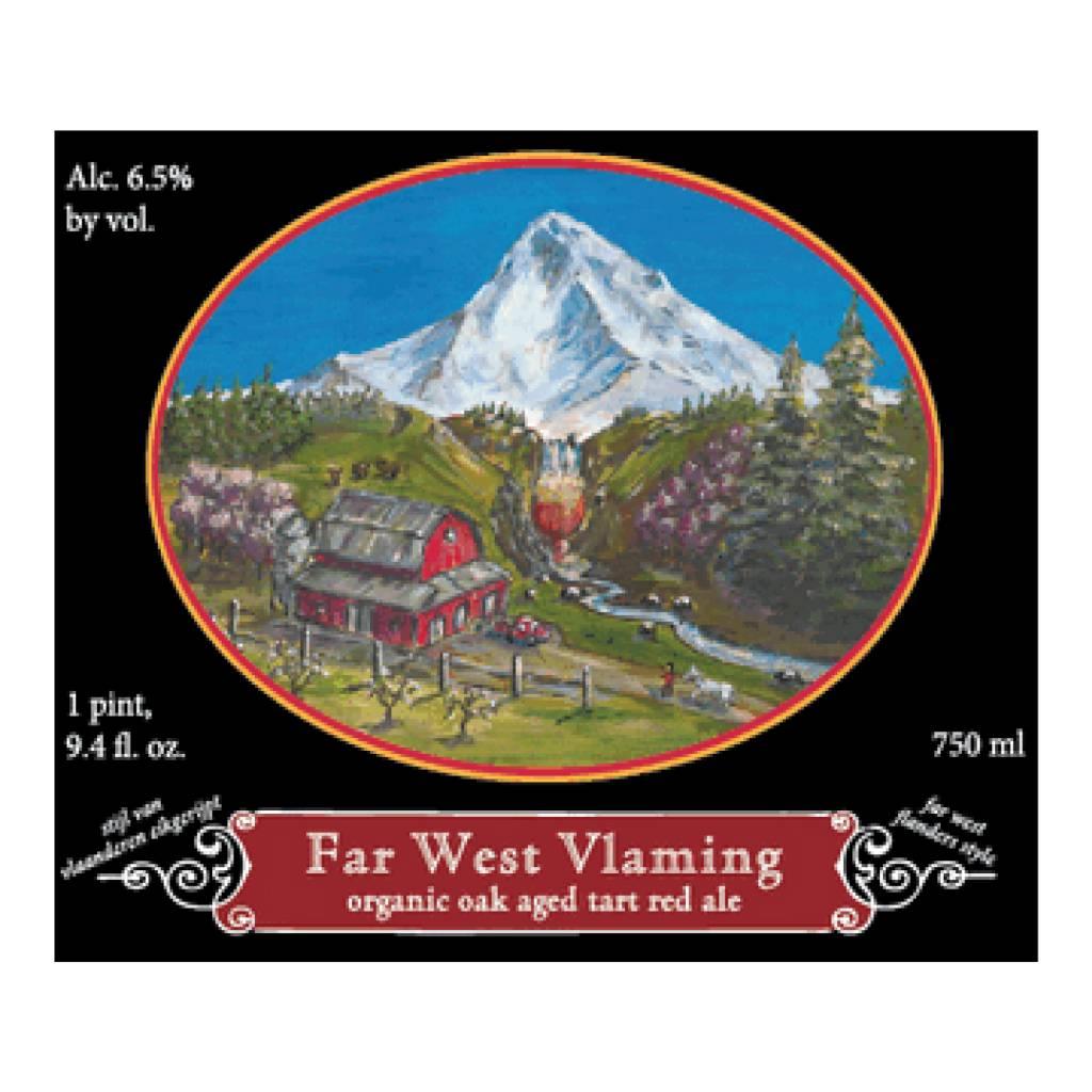 Logsdon 'Far West Vlaming' Organic Oak Aged Tart Red Ale 750ml