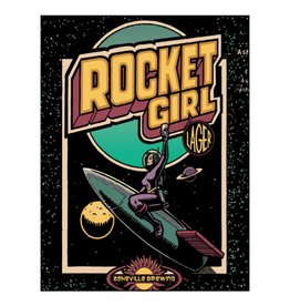 Asheville Brewing Co. Rocket Girl Case (12oz - Box of 24)