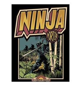 Asheville Brewing Co. 'Ninja Porter' 12oz (Can)