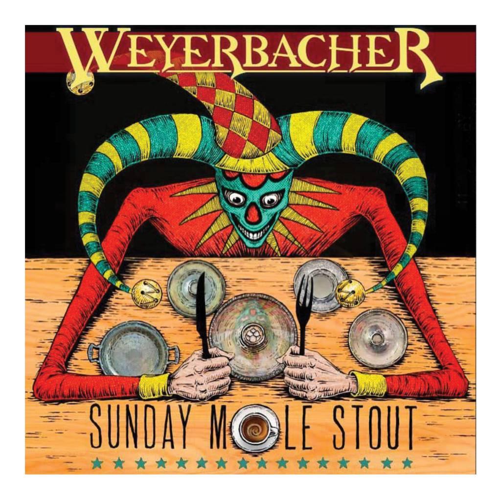 Weyerbacher 'Sunday Mole Stout' 12oz Sgl