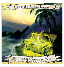 Jolly Pumpkin 'Oro de Calabaza' Golden Ale Aged in Oak Barrels 375ml