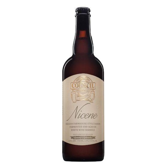Council 'Nicene' Farmhouse Ale aged in White Wine Barrels 750ml