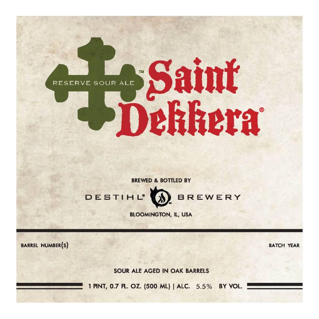 Destihl 'Saint Dekkera' Sour Ale 500ml